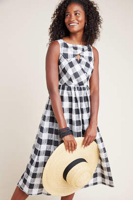 Tracy Reese Hope For Flowers By Florence Gingham Midi Dress