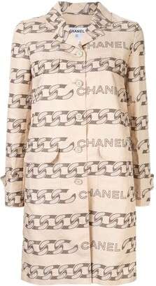Chanel Pre Owned 2001 Patterned Jacket