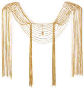 Rosantica Aquilone Fringed Gold-tone Body Chain