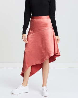 All About Eve Coco Asymmetrical Skirt