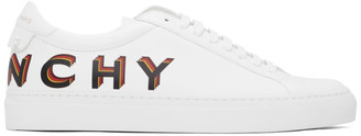 Givenchy White Logo Urban Knot Sneakers