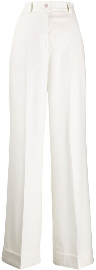 Pt01 Flared Tailored Trousers