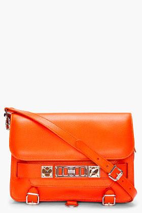 Proenza Schouler PS11 Orange Classic Bag