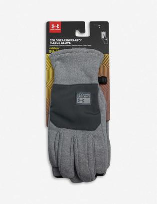 Under Armour ColdGear brushed-fleece gloves