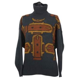 Hermes Green Wool Knitwear