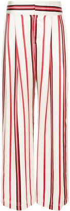 Maggie Marilyn Striped Wide-Leg Trousers