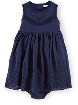 Ralph Lauren Cotton Eyelet Dress & Bloomer