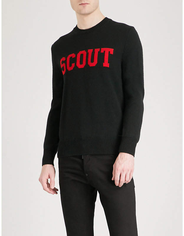 DSQUARED2 Scout wool jumper