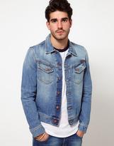 Nudie Jeans Denim Jacket Conny Light Wash