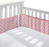 BreathableBaby Mesh Printed Crib Liner, Coral Clover