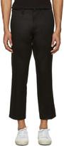 R 13 Black Skinhead Trousers