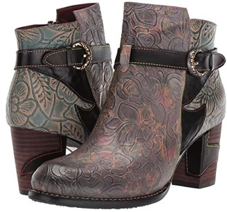 Spring Step L'Artiste by Tallulah (Black Multi) Women's Boots