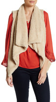 Flying Tomato Asymmetrical Hem Fleece Vest