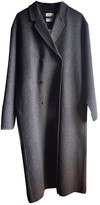 Totême Grey Wool Coat for Women