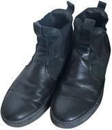 Lanvin Black Leather Boots