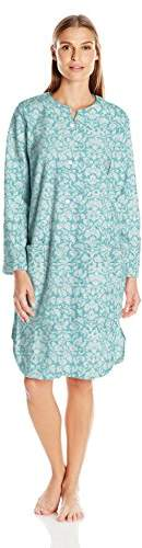 Miss Elaine Women's Brushed Back Terry SHT Snap Robe