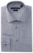 John Varvatos Multi Check Slim Fit Dress Shirt