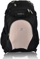 Obersee Bern Diaper Bag Backpack with Detachable Cooler in Bubble Gum