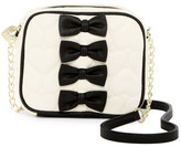 Betsey Johnson Petite Chic Faux Leather Crossbody