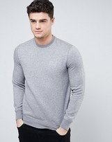 Armani Jeans Sweatshirt with Logo In Gray