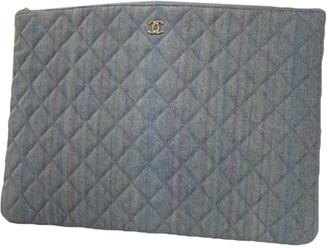 Chanel Multicolour Denim - Jeans Clutch bags