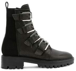 Dolce Vita Gaven Lug Leather Moto Boots