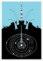 Pin It Hybrid-Home Limited Edition Print Rockets