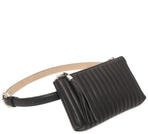 INC International Concepts Inc Channel-Stitch Convertible Belt Bag, Created for Macy's