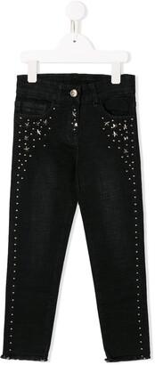 MonnaLisa Star Studded Jeans