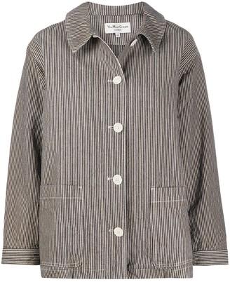 YMC Striped Oversized Jacket