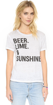Chaser Beer Lime & Sunshine Tee
