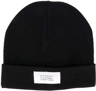 Givenchy slouchy beanie hat
