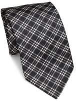 Brioni Plaid Silk Tie
