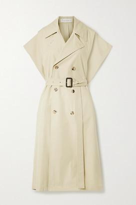 J.W.Anderson Cotton-gabardine Trench Coat - Beige
