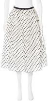 Erdem Silk Polka Dot Skirt w/ Tags