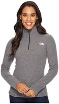The North Face Glacier 1/4 Zip Fleece Top Women's Fleece
