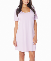 Lilac Butterknit Nightgown - Plus Too