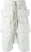 Rick Owens drawstring track shorts - men - Polyamide - S
