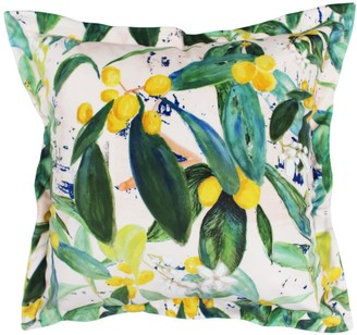 Emily Laura Designs Oranges Velvet Cushion
