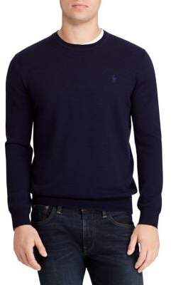 Polo Ralph Lauren Washable Merino Wool Crewneck Sweater