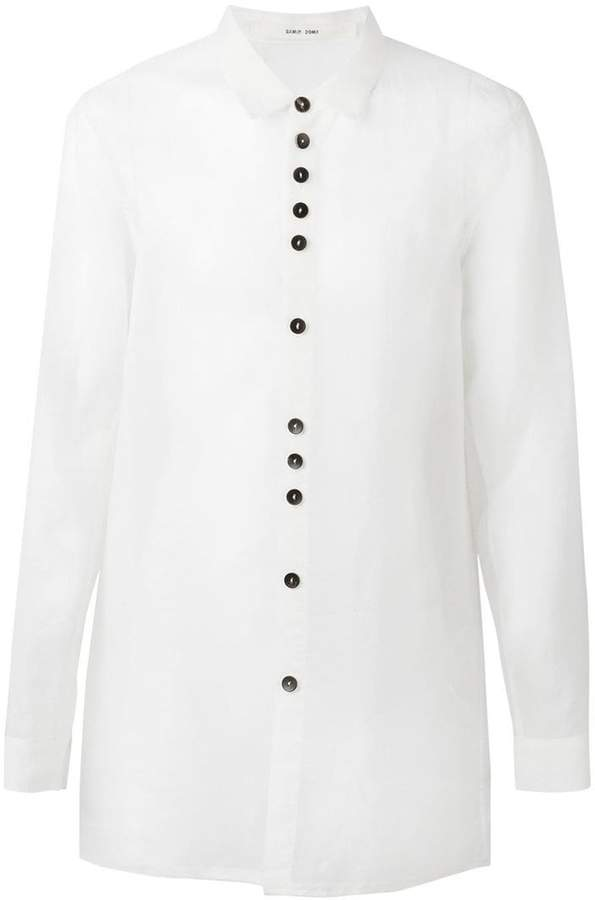 Damir Doma raw edge shirt