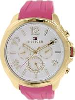 Tommy Hilfiger Women's 1781389 Rubber Analog Quartz Watch