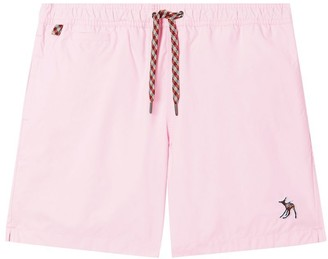 Burberry Deer Applique Drawcord Swim Shorts