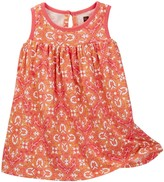 Tea Collection Eleonora Floral Print Sleeveless Dress (Baby Girls)