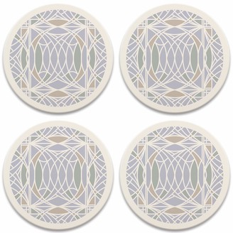 CoasterStone Frank Lloyd Wright Blossom Set of 4 Coasters One Size