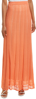 M Missoni Wool-Blend Maxi Skirt