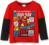 Marvel Boy's Invincible Long Sleeve Top