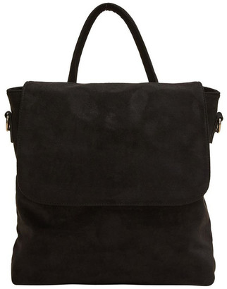 French Connection Sueded Convertible Backpack