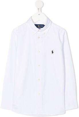 Ralph Lauren Kids Long Sleeve Button-Down Shirt