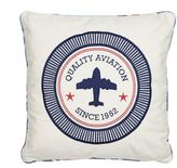 Oliver Aviation Throw Pillow